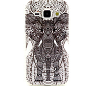 Elephant Pattern TPU Soft Case for Samsung Galaxy J1
