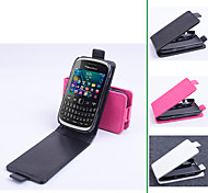 PU Leather  Protective Case With Holder Stand for BlackBerry 9320(Assorted Colors)