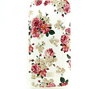 Rose  Pattern TPU Soft Case for  WIKO IGGY