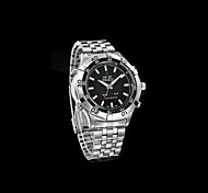LED waterproof stainless steel watch (Assorted Colors)