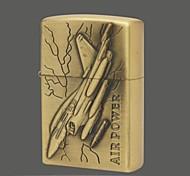 Fighter Series Kerosene Lighter Relief Style (Pattern Randomly Shipped)