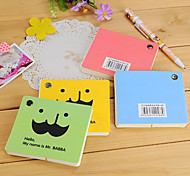 Mustache Spin Rotatable Note Pad