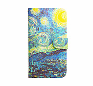 Starry Sky Pattern PU Leather Case with Stand for Samsung Galaxy S3 MINI I8190