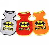 Cute Bats Vest  For Dogs (Assorted Colours,Sizs)