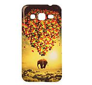 volar caso del tpu pintura del elefante para Samsung Galaxy Ace 4 g357fz