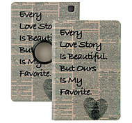 "Elonbo® Love Story 360° Rotating PU Leather Full Body Protector Case Cover For Amazon Kindle Fire HDX 7""2013 Gen."