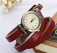 boêmio das mulheres relógios relógio três couro
