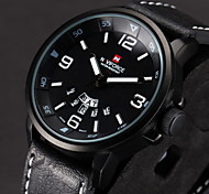 mode avtive montres PU hommes (couleurs assorties)