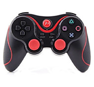 draadloze bluetooth game controller voor sony playstation 3 ps3 (zwart)