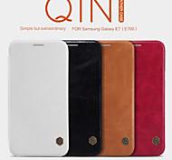 NILLKIN Qin Series Leather Case Back Cover Case for Galaxy E7(E700)