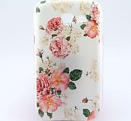rosa blanca caso suave patrón de tendencia Galaxy Lite s7390 / s7392