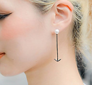 Sweet  As Picture Alloy Drop Earrings(As Picture) (1 Pair)