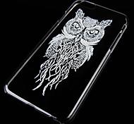 motif oiseau de nuit fond transparent pour iPhone 6