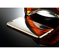 Aluminum Luxury Metal Frame Mirror Back Case Cover For Apple iPhone 6 Plus