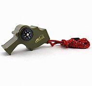 Multi-functional High Decibel with Compass Survival Whistle