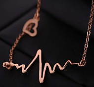 Creative Heart Shape Pendant Necklace