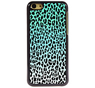 Blue Leopard Print Design Aluminum Hard Case for iPhone 5C
