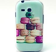 bunte hamburg Muster weiche Tasche für Samsung-Galaxie S3 i8190 Mini