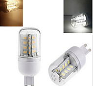 1 pcs  G9 7 W 32LED  SMD 5730 750 LM 2800-3500/6000-6500 K Warm White/Cool White Corn Bulbs AC 220 V