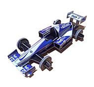 3D auto da corsa di puzzle