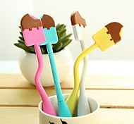 Flexible Cute Ice Cream Style BallPoint Pen (Random Color)