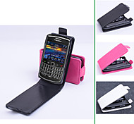 PU Leather  Protective Case With Holder Stand  for Blackberry 9700(Assorted Colors)