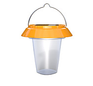 1 White Led Hand Crank Solar Lantern Camping Lamp (No USB Cable included)