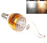 Ampoules Bougies LED Blanc Chaud / Blanc Froid dingyao 1 pièce E14 LED Haute Puissance 450 LM AC 85-265 V