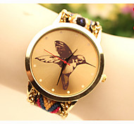 Fashion Women's Hummingbird National Weaving South Korea Style Chain DIY Watch Cool Watches Unique Watches