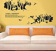 Black Forest PVC Wall Stickers Wall Art Decals
