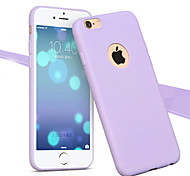 Macaron Fruit Color TPU Soft Shell for iPhone 6/6S/6 Plus/6S Plus