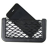 Car Net Organizer Pockets Car Storage Net 14.5X8cm Automotive Bag Box Adhesive Visor Car Bag For Tools Mobile Phone