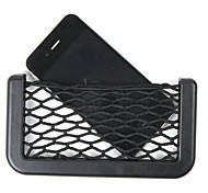 автомобиль чистый организатор карманы хранения автомобиля нетто 14.5x8cm автомобильной окно мешок клея козырек автомобиля сумка для