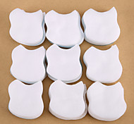 500PCS Nail Polish Remover Cotton Nail Art Cleaner Cotton Nail Tips Remover Pads Manicure Tools