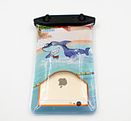 Universal 6 Inch Cartoon PVC Waterproof Phone Case 10 Meters Underwater Phone Bag Pouch Dry No.025 (All Models)