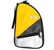 Outdoors Oxford Yellow Easy Packing Table Tennis Paddle Bag