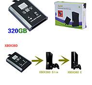 Hdd interno disco rigido hard disk da 320GB per Xbox 360 Xbox 360 es sottile