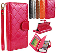 Multi-function Retro PU Leather Flip Cover Wallet Card Slot Case with Stand for iPhone 5/5S(Assorted Colors)