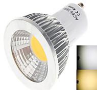 6W GU10 Lampadine globo LED 1LED COB 450 lm Bianco caldo / Luce fredda AC 85-265 V 1 pezzo