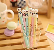 Sunny Doll Creative Neutral Pen (Random Color)