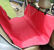 Dog Car Seat Cover Pet Mats & Pads Waterproof / Portable / Foldable Red / Black / Blue / Brown / Gray Fabric