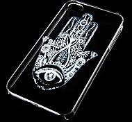 fondello trasparente schiaffo marchio modello per iphone4 / 4s