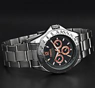 bande d'acier chenxi à la rose nombre d'or sport imperméables montre à quartz