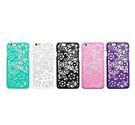 4,7-Zoll-Retro Blume PC Schutzhülle für iPhone 6 (verschiedene Farben)