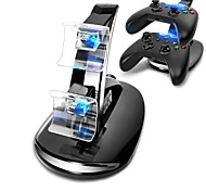 LED USB Dual Charger Controller Stand Charging Charge Dock Stand for Microsoft X-BOX ONE Controller