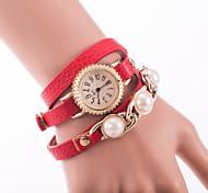 la mode féminine nouvelle montre pu perle table bracelet encerclant
