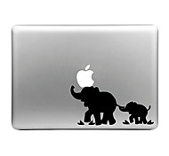Hat-Prince Elephant Designed Removable Decorative Skin Sticker for MacBook Air / Pro / Pro with Retina Display