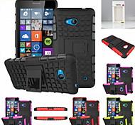 kemile pesados tand cae robô telefone duramente o cae cobertura para microoft Lumia 640 (cor aorted)