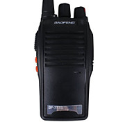 pofung cb jamón bidireccional portátil charla ptt pmr walkie talkie estación amador comunicador de radio paseo (negro)