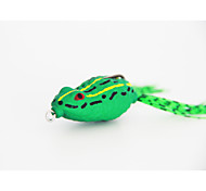 MF2D-G03F Hot Sale New Arrive  45mm/9g/Soft Plastic Lure Soft Frog Lure